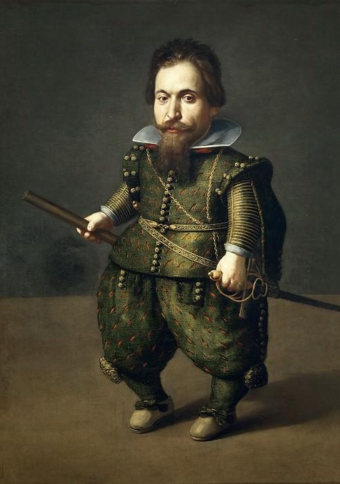 Hamen y León, Juan van der -- Retrato de enano. Part 5 Prado Museum