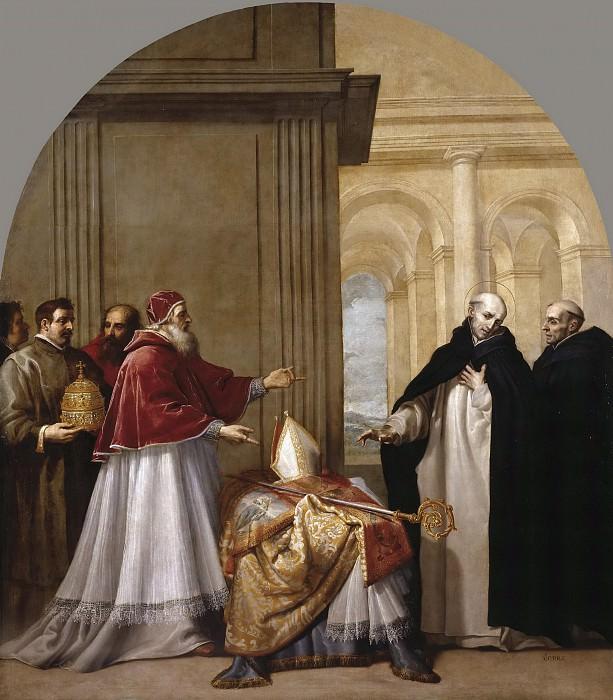 Carducho, Vicente -- San Bruno renuncia al arzobispado de Reggio Calabria. Part 5 Prado Museum
