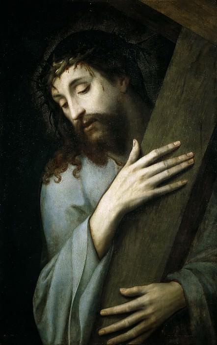 Coxie, Michiel I -- Jesús con la Cruz a cuestas. Part 5 Prado Museum