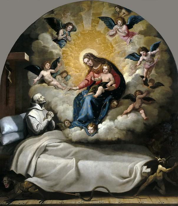 Кардучо, Висенте -- Явление Богоматери с Младенцем Петру Фаверию. часть 5 Музей Прадо