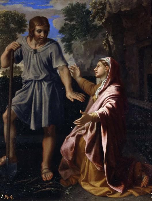 Poussin, Nicolas -- Noli me tangere. Part 5 Prado Museum