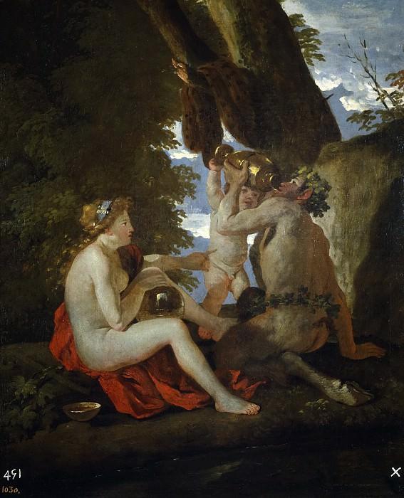 Poussin, Nicolas -- Escena báquica. Part 5 Prado Museum