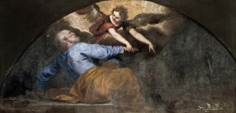 Cano, Alonso -- San Pedro liberado por el ángel. Part 5 Prado Museum