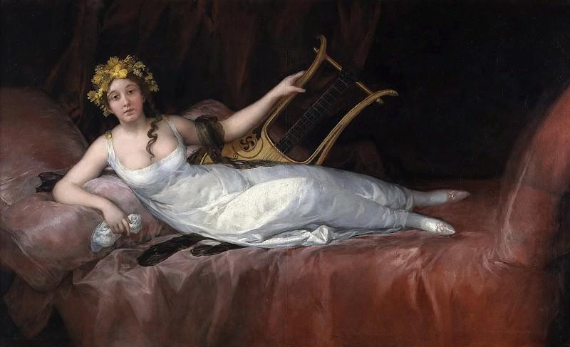 Goya y Lucientes, Francisco de -- Joaquina Téllez-Girón y Pimentel, marquesa de Santa Cruz. Part 5 Prado Museum