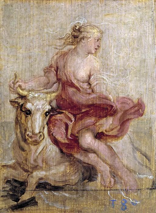 Rubens, Pedro Pablo -- El rapto de Europa. Part 5 Prado Museum