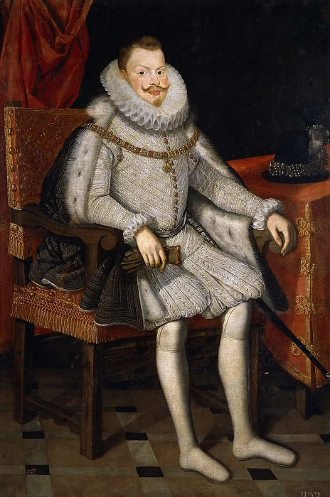 González, Bartolomé -- Felipe III, rey de España, sedente. Part 5 Prado Museum