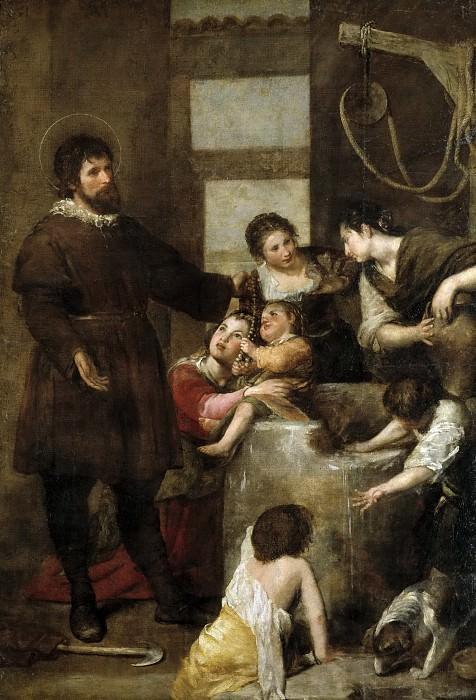 Cano, Alonso -- El milagro del pozo. Part 5 Prado Museum