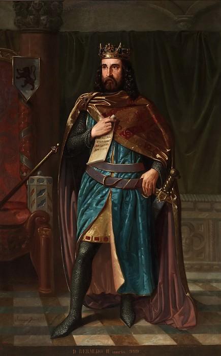 Фресно, Херонимо -- Бермудо II Подагрик, король Галисии и Леона. часть 5 Музей Прадо