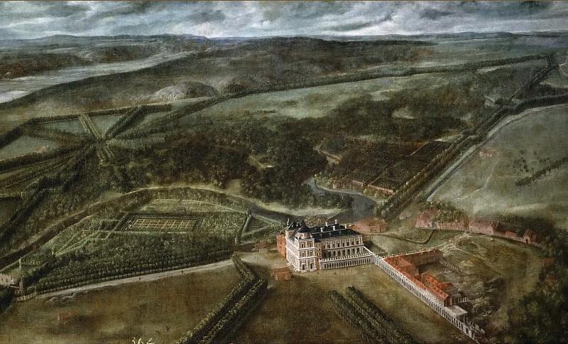 Anónimo -- Vista del Real Sitio de Aranjuez. Part 5 Prado Museum