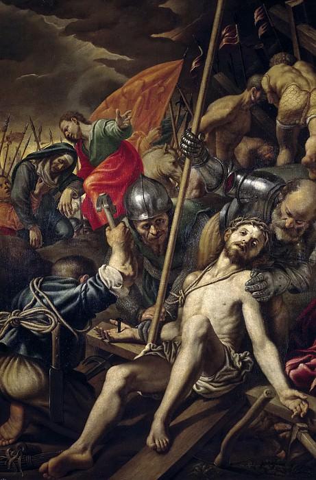 Campi, Vincenzo -- La Crucifixión. Part 5 Prado Museum