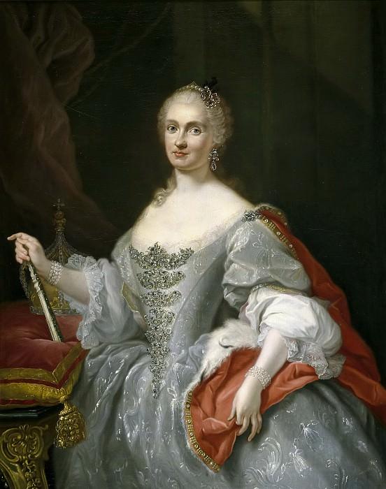 Bonito, Giuseppe -- La reina María Amalia de Sajonia. Part 5 Prado Museum