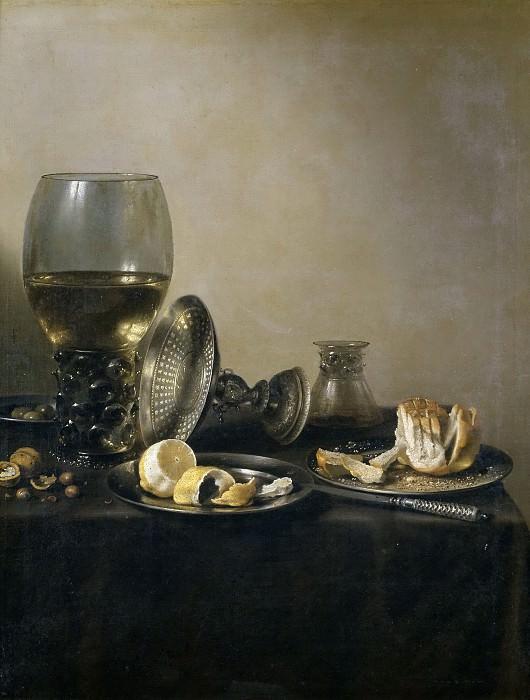 Клас, Питер -- Натюрморт с посудой. часть 5 Музей Прадо