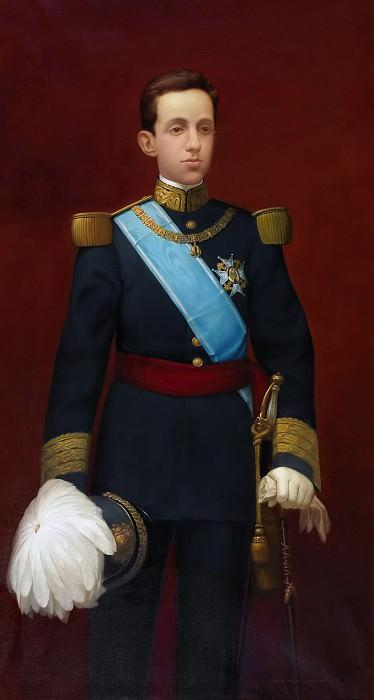 García Sampedro, Luis -- El rey Alfonso XIII joven. Part 5 Prado Museum