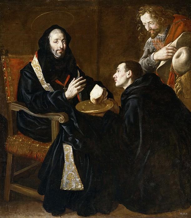 Риси де Гевара, фра Хуан Андрес -- Святой Бенедикт благословляет хлеб. часть 5 Музей Прадо