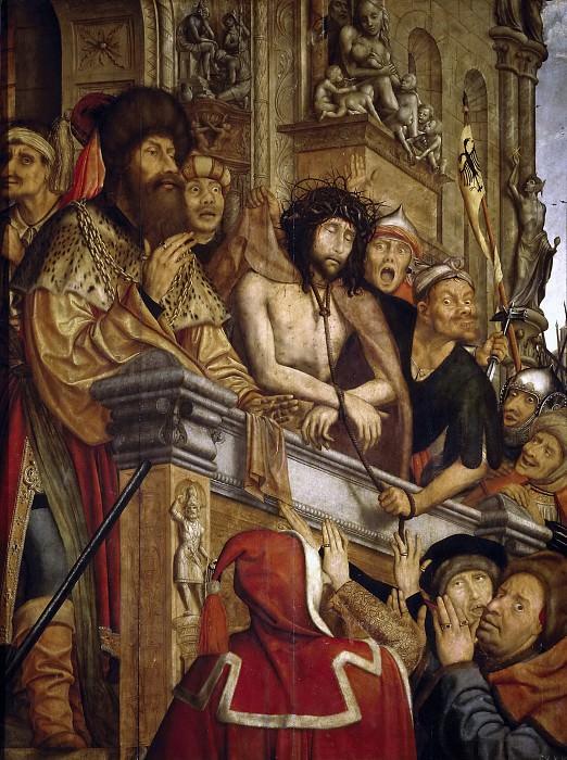 Massys, Quentin -- Cristo presentado al pueblo. Part 5 Prado Museum