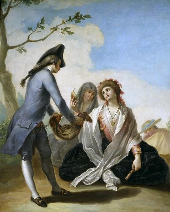 Bayeu y Subías, Ramón -- Obsequio campestre. Part 5 Prado Museum