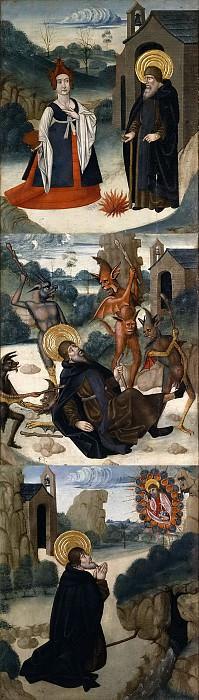 Abadía el Viejo, Juan de la -- Escenas de la vida de San Antonio Abad. Part 5 Prado Museum