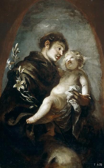 Эррера, Франсиско I де -- Св Антоний Падуанский. часть 5 Музей Прадо