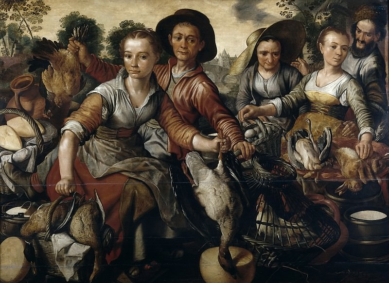 Beuckelaer, Joachim -- Mercado. Part 5 Prado Museum