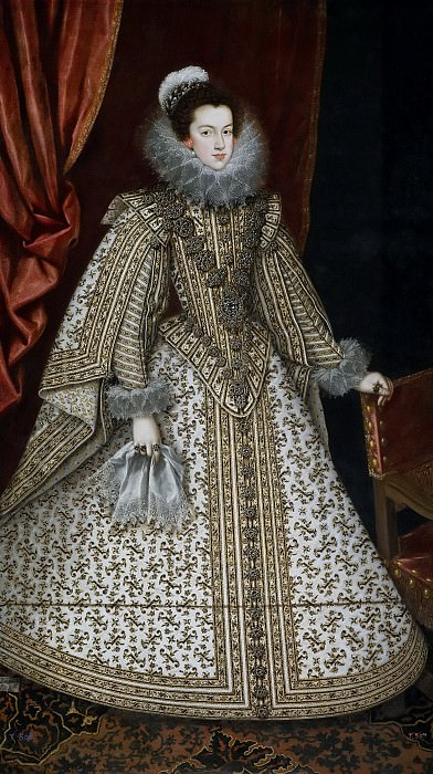 Villandrando, Rodrigo de -- Isabel de Borbón, futura reina de España. Part 5 Prado Museum