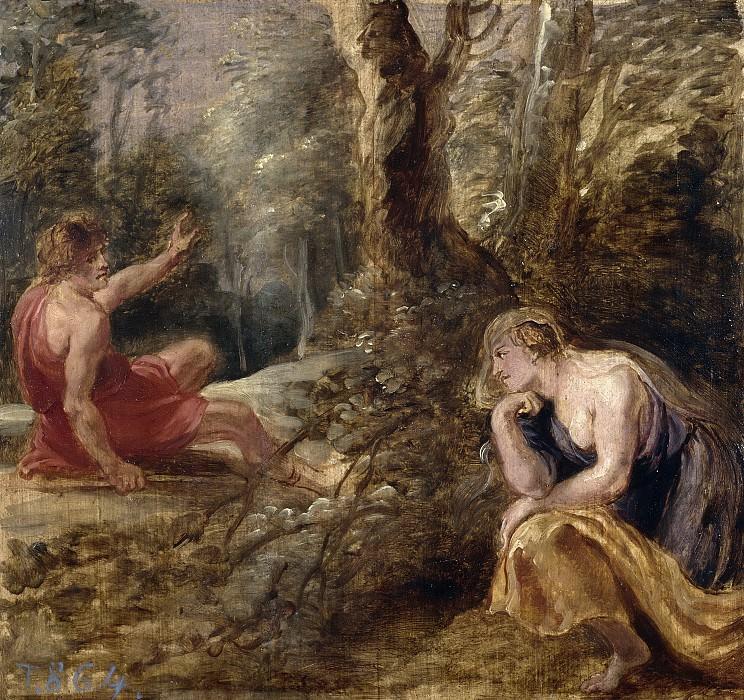 Rubens, Pedro Pablo -- Céfalo y Procris. Part 5 Prado Museum