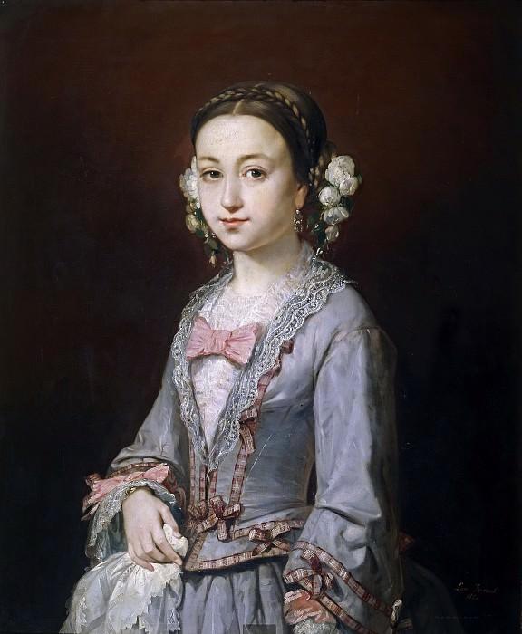 Ferrant y Llausás, Luis -- Isabel Aragón de Escolar. Part 5 Prado Museum