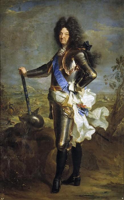 Риго, Иасент -- Людовик XIV, король Франции. часть 5 Музей Прадо