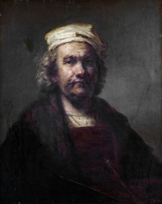 Аноним -- Автопортрет (копия Рембрандта). часть 5 Музей Прадо