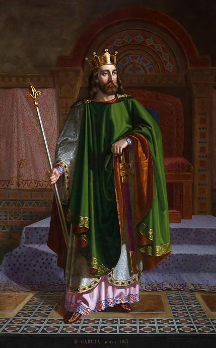 Roca y Delgado, Mariano de la -- Don García I, rey de León. Part 5 Prado Museum
