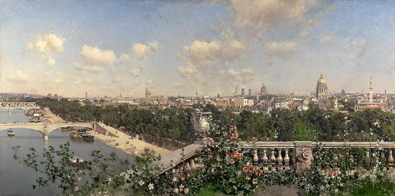 Рико и Ортега, Мартин -- Вид на Париж с дворца Трокадеро. часть 5 Музей Прадо