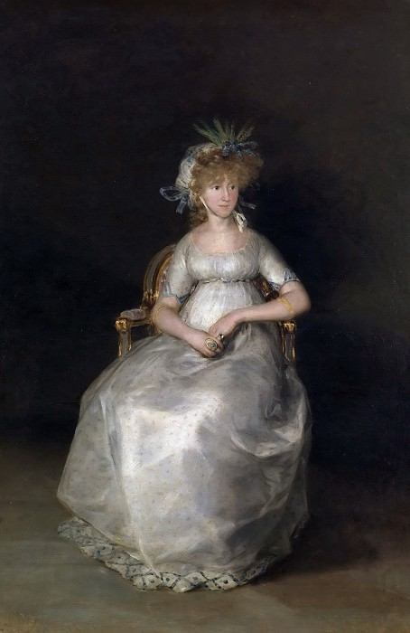 Гойя и Лусиентес, Франсиско де -- Графиня Чинчон. часть 5 Музей Прадо
