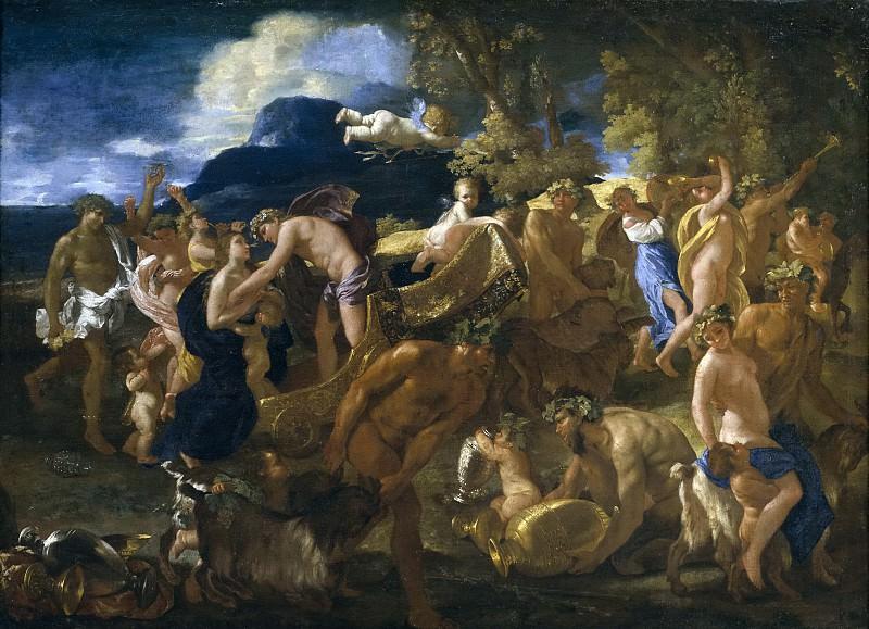 Poussin, Nicolas -- Bacanal. Part 5 Prado Museum