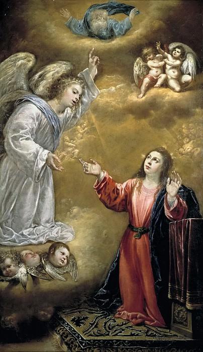 Переда и Сальгадо, Антонио де -- Благовещение. часть 5 Музей Прадо
