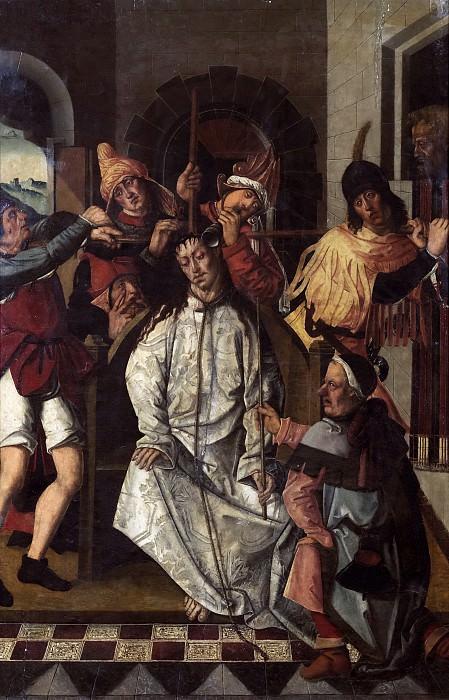 Osona, Francisco de; Osona, Rodrigo de -- La Coronación de espinas. Part 5 Prado Museum