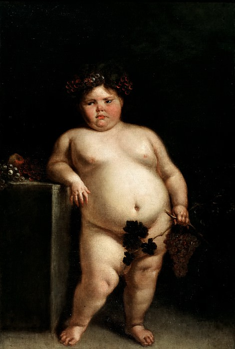 Carreño de Miranda, Juan -- La Monstrua desnuda, o Baco. Part 5 Prado Museum