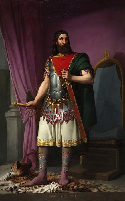 Эскивель, Карлос Мария -- Эхика, король вестготов. часть 5 Музей Прадо