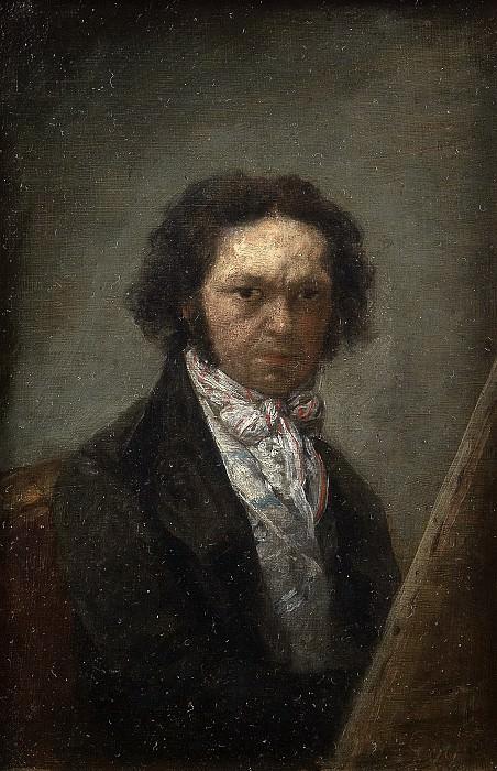 Goya y Lucientes, Francisco de -- Autorretrato. Part 5 Prado Museum