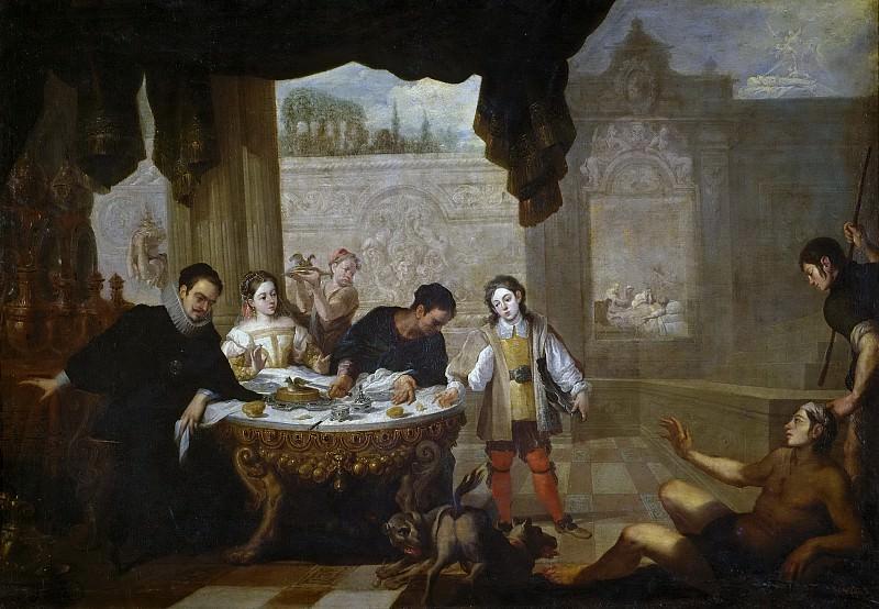 Sevilla y Romero, Juan de -- El rico epulón y el pobre Lázaro. Part 5 Prado Museum