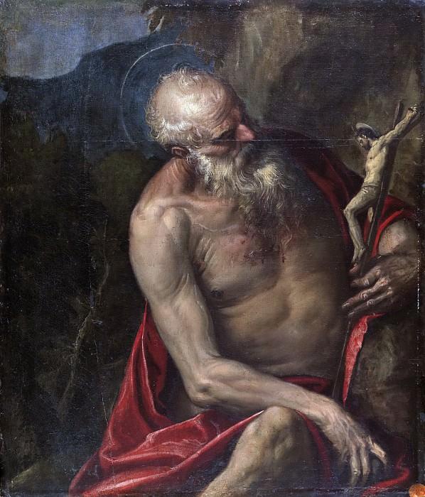 Veronese, Paolo (y taller) -- San Jerónimo meditando. Part 5 Prado Museum