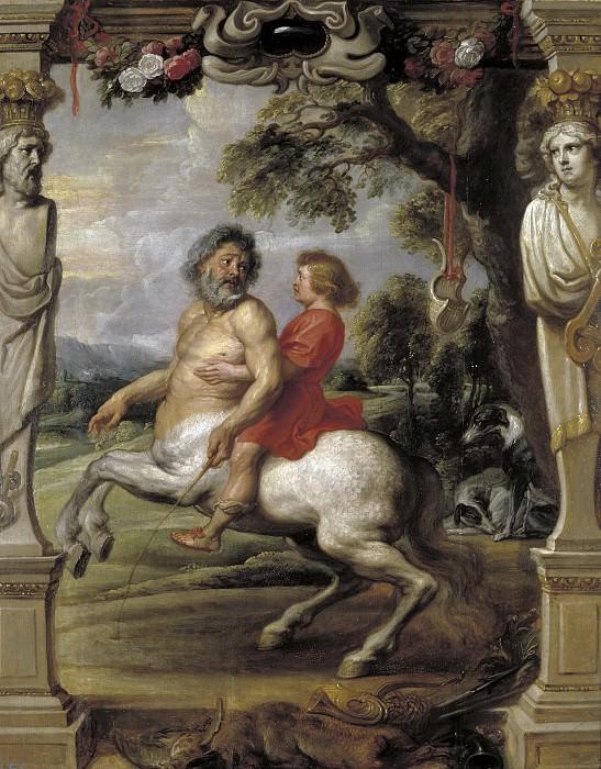 Rubens, Pedro Pablo (y taller) -- La educación de Aquiles. Part 5 Prado Museum