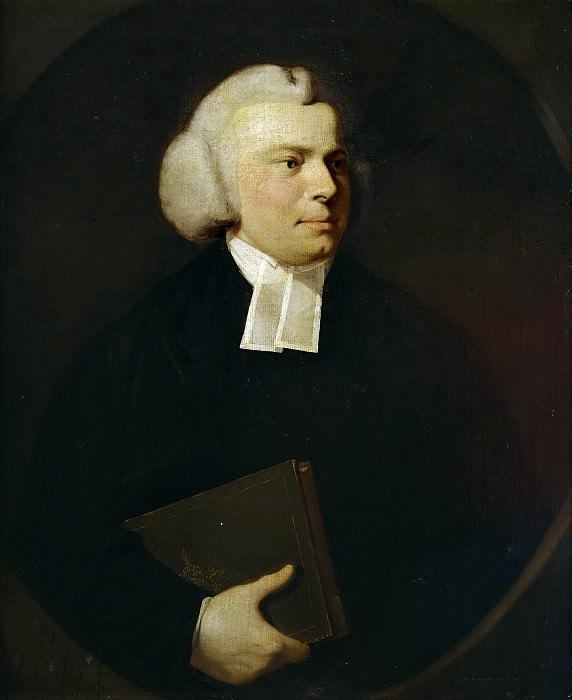 Reynolds, Sir Joshua -- Retrato de un eclesiástico. Part 5 Prado Museum