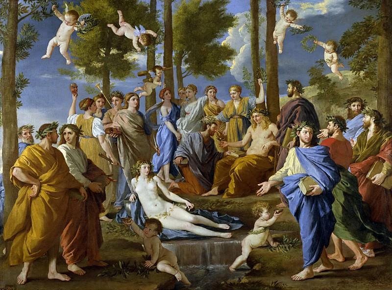 El Parnaso. Nicolas Poussin
