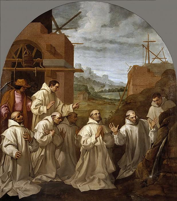 Carducho, Vicente -- El milagro del manantial. Part 5 Prado Museum