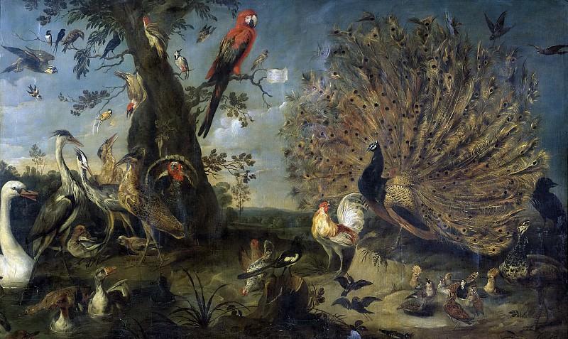 Snyders, Frans -- Concierto de aves. Part 5 Prado Museum