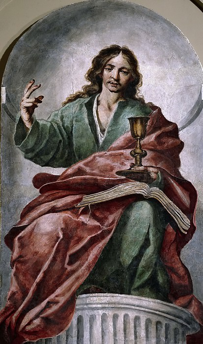 Мохедано, Антонио (приписывается) -- Иоанн Богослов. часть 5 Музей Прадо