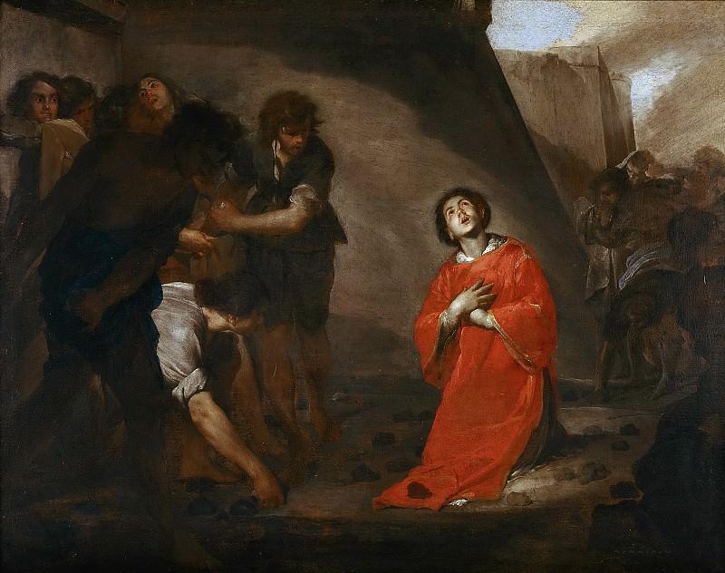 Cavallino, Bernardo -- Martirio de San Esteban. Part 5 Prado Museum