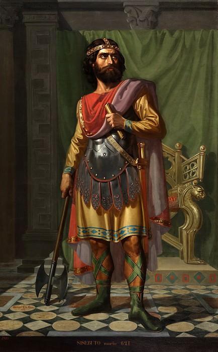 Roca y Delgado, Mariano de la -- Sisebuto, rey godo. Part 5 Prado Museum