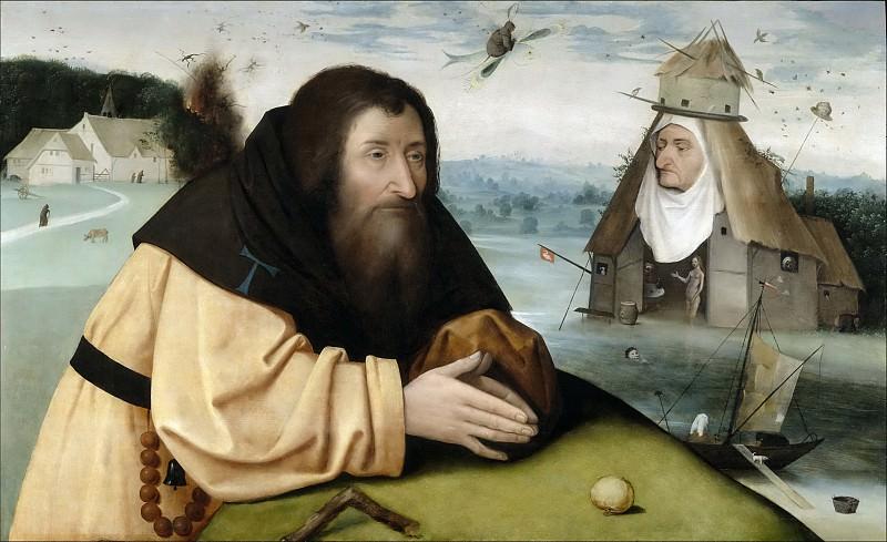El Bosco (Atribuido a) -- Las tentaciones de San Antonio Abad. Part 5 Prado Museum