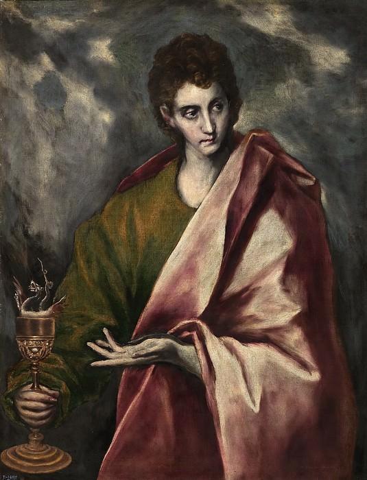 El Greco (y taller) -- San Juan Evangelista. Part 5 Prado Museum