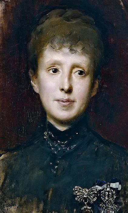 Madrazo y Garreta, Raimundo de -- La reina María Cristina de Habsburgo-Lorena. Part 5 Prado Museum